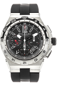 Diagono X-Pro GMT Chronograph Stainless Steel Automatic