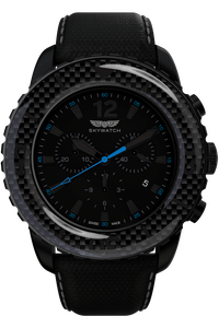 46mm Chrono Black IP