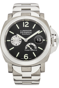 Titanium and Stainless Steel Luminor Power Reserve Automatic