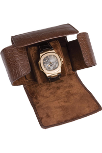 Brown Berkeley Single Watch Roll