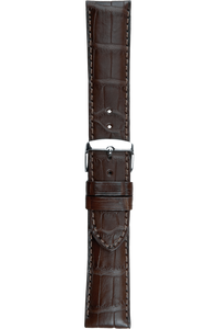 22 mm Brown Alligator Strap