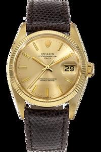 14K Yellow Gold Date Automatic Circa 1979