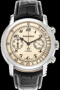 18K White Gold Jules Audemars Chronograph Automatic