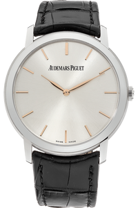 18K White Gold Jules Audemars Extra Thin Automatic