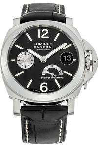 Stainless Steel Luminor Power Reserve Automatic