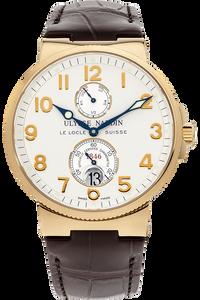 18K Yellow Gold Marine Chronometer Automatic