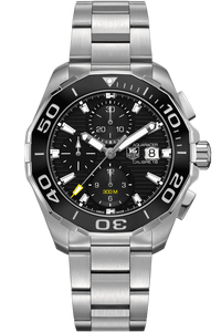 Aquaracer Calibre 16 300M Chronograph – Ceramic Bezel
