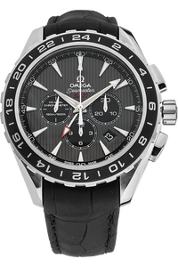 Stainless Steel Seamaster Aqua Terra Co-Axial GMT Chronograph Automatic