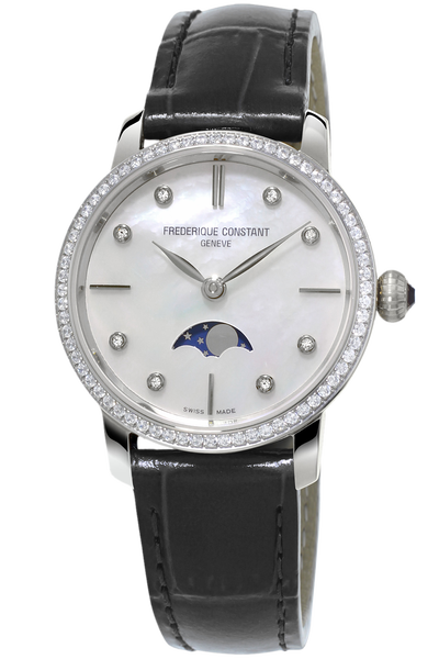 Ladies Slimline Moonphase