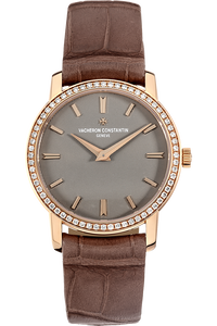 18K Rose Gold Patrimony Traditionnelle Lady Quartz
