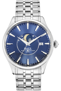 Stainless Steel Trainmaster Moon Phase Automatic