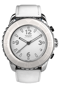 44 mm 3-hand Stainless Steel