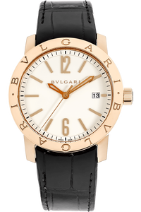 18K Rose Gold Bvlgari-Bvlgari Automatic