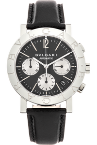 Bvlgari-Bvlgari Chronograph Stainless Steel Automatic