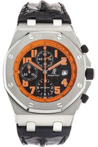 Stainless Steel Royal Oak Offshore Volcano Chronograph Automatic