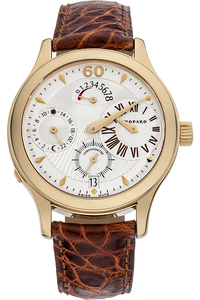 18K Rose Gold LUC Quadratto Regulateur Automatic Limited Edition
