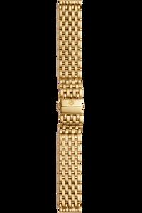 Caber 7 Link Gold Bracelet
