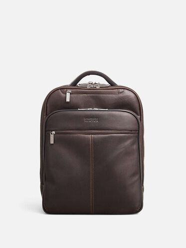 Double Gusset Backpack   , BROWN, hi-res