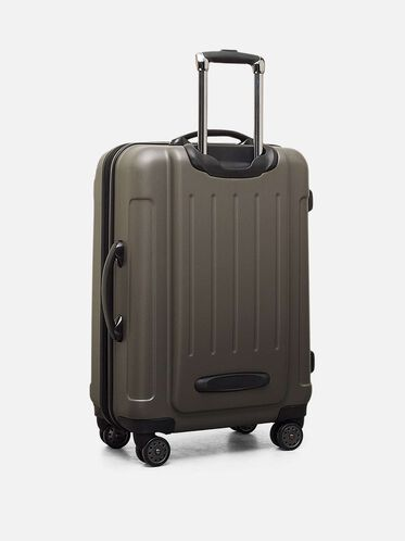 Renegade 24' Expandable Upright Suitcase, SILVER, hi-res