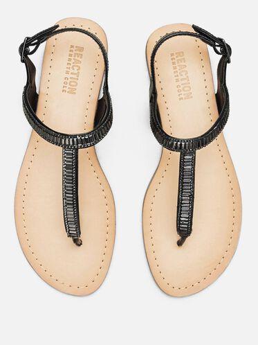 Just a Gal T-Strap Sandal, BLACK, hi-res