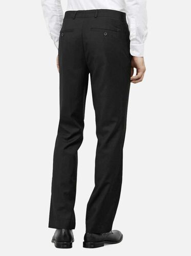 Slim-Fit Suit Pant, BLACK, hi-res