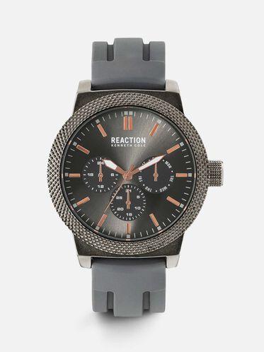 Multi-functional Grey Gunmetal Watch, NO COLOR