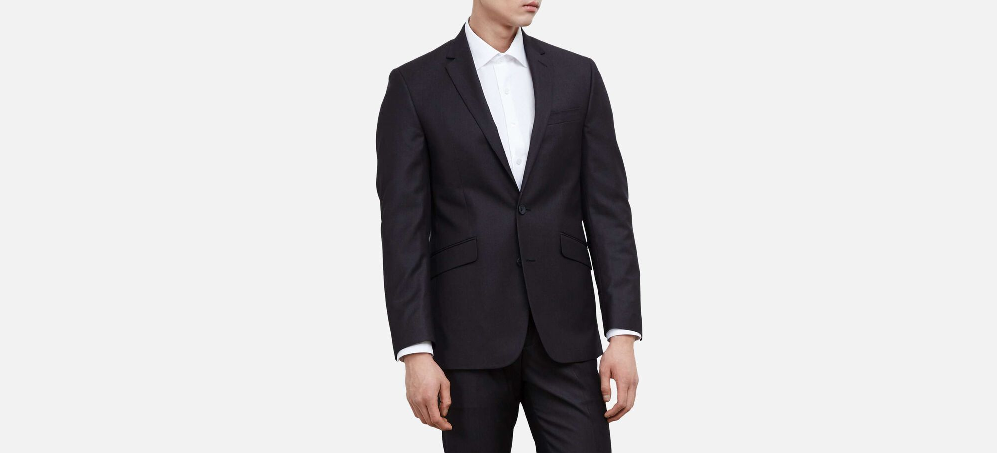 Slim-Fit Suit Jacket, , hi-res