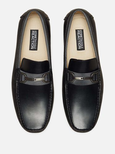 Sound Proof Leather Loafer, BLACK, hi-res
