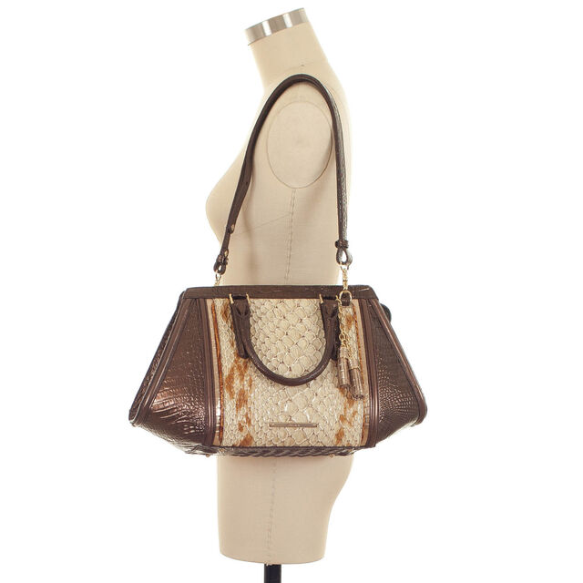 Arden Satchel Honey Carlisle, Honey, hi-res