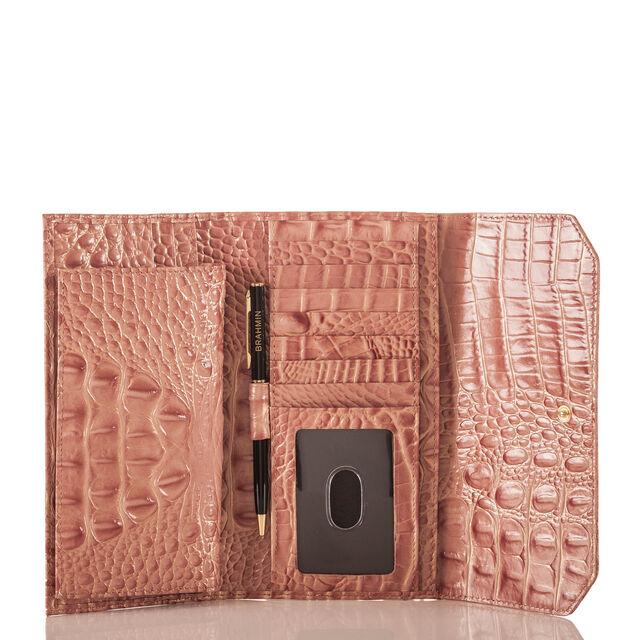Soft Checkbook Wallet Sandshell Melbourne, Sandshell, hi-res