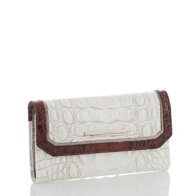 Soft Checkbook Wallet Pearl Akoya, Pearl, hi-res