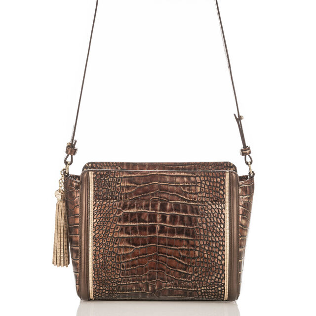 Carrie Crossbody Brown Milan, Brown, hi-res