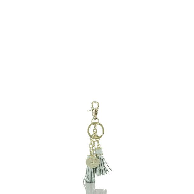 Tassel Key Ring Sea Glass Melbourne, Sea Glass, hi-res