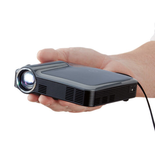 Brookstone pocket projector pro buy now for Lumen pocket projector